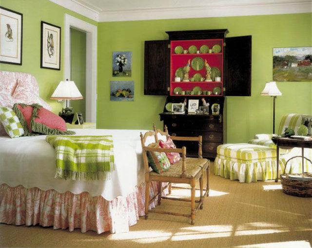 Spring bedroom pantone