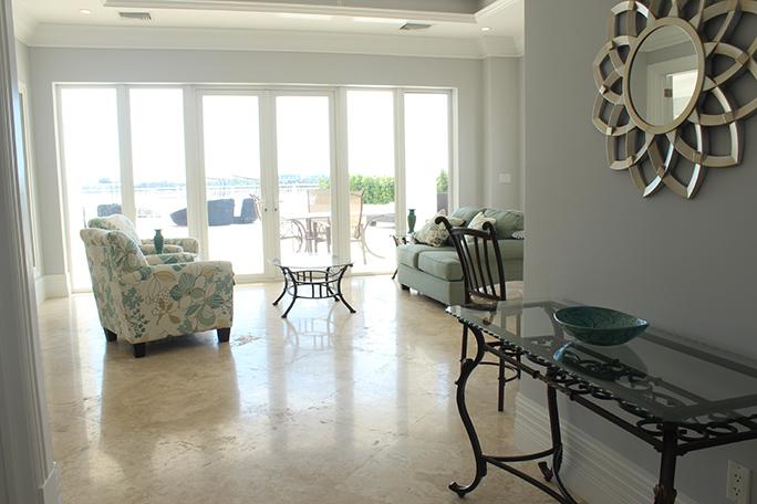 one ocean 106 living room